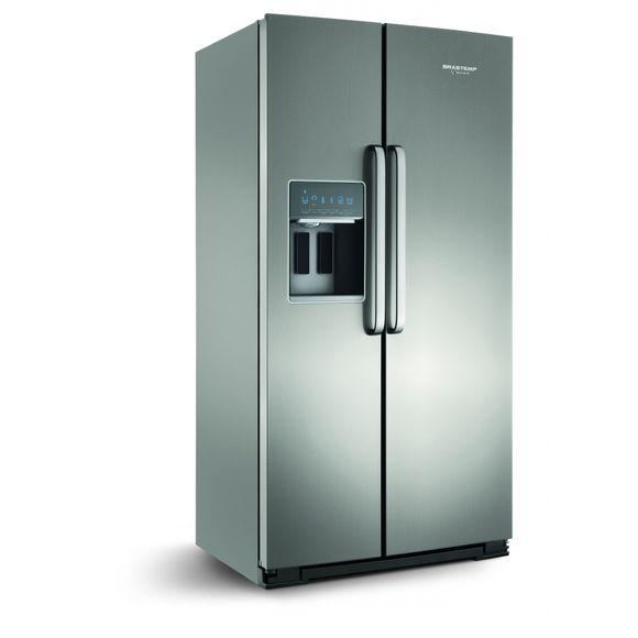 Geladeira refrigerador 596 litros 2 portas inox gourmand for Geladeira 2 portas inox