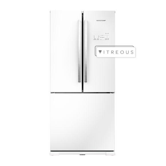 Geladeira/refrigerador 540 Litros 3 Portas Branco Ative! - Brastemp - 110v - Gro80abana