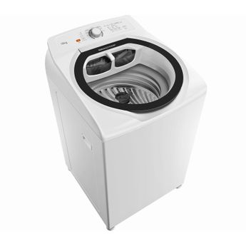 Máquina de lavar 12kg - Lavadora de roupas 12 kg Brastemp BWT12AB - Imagem em Perspectiva