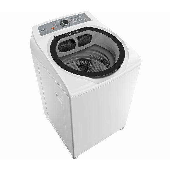 Lavadora de Roupas 12kg Água Quente Brastemp - Máquina de Lavar 12kg BWQ12AB