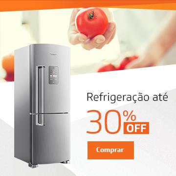 Refrigeração até 30% off