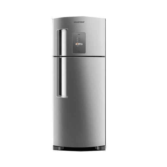 Geladeira refrigerador 429 litros 2 portas inox brastemp for Geladeira 2 portas inox