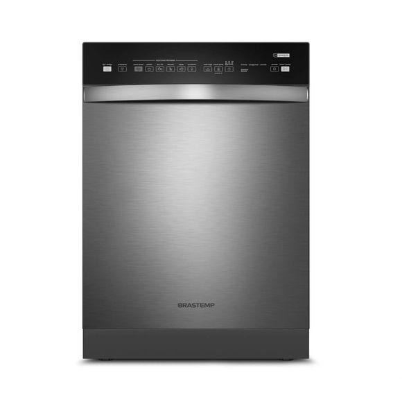 Lava louças - Máquina de lavar louças 14 serviços cinza Brastemp
