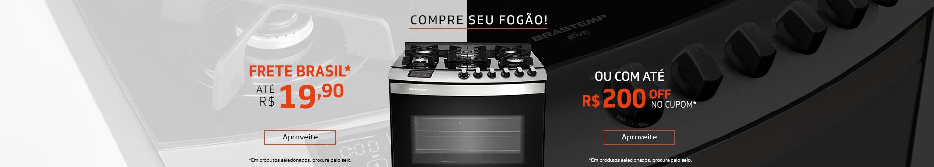 Promoção Interna - 2180 - camp-generica_fogão-frete-cupom-duplo_20022018_home2 - fogão-frete-cupom-duplo - 2