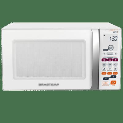 Micro-ondas Brastemp Ative 30 Litros Branco com Grill