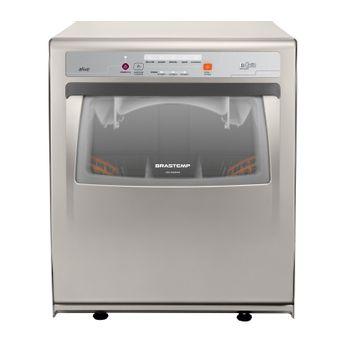 Lava louças - Máquina de lavar louça 8 serviços Ative cinza Brastemp BLF08AS