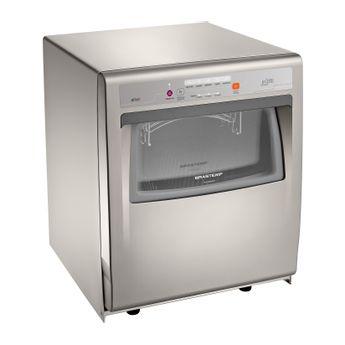 Lava louças - Máquina de lavar louça 8 serviços Ative cinza Brastemp BLF08AS - imagem em Perspectiva