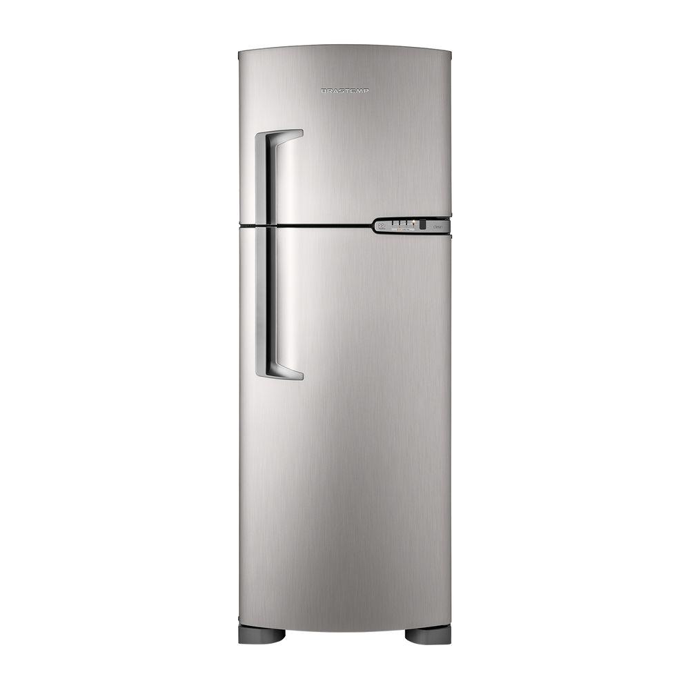 Preferência Geladeira Brastemp Frost Free Duplex 352 litros cor Inox - Brastemp PM95