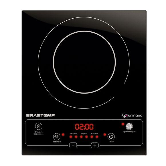 cooktop 1 boca: portátil de indução BDJ30AE Brastemp Gourmand - Imagem Frontal