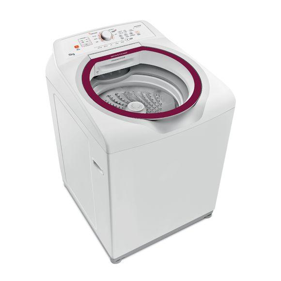 Máquina de Lavar: Lavadora de roupas 15 kg Brastemp BWK15AB - Imagem em perspectiva