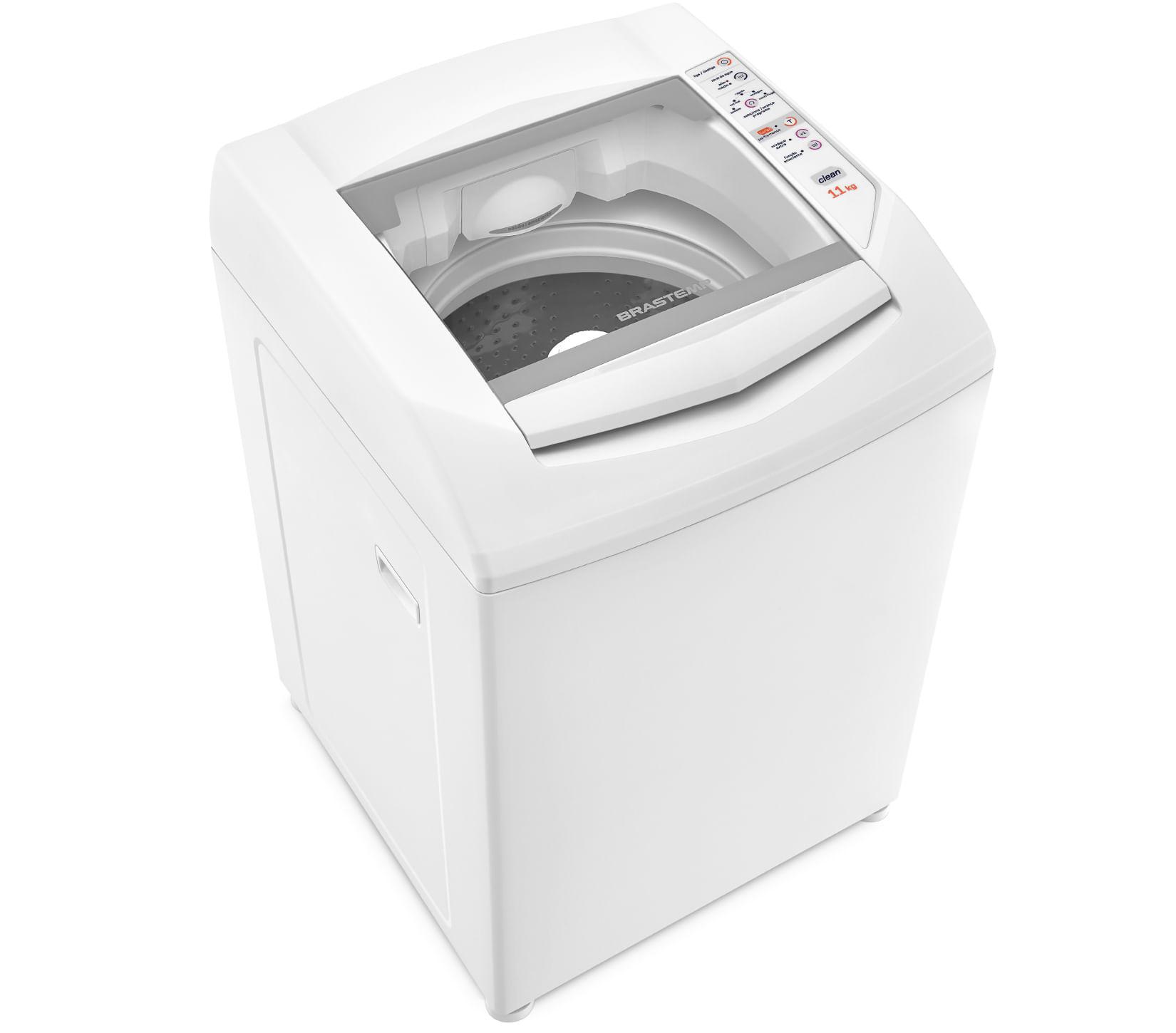 Máquina de Lavar Brastemp 11kg com Enxágue Extra e Função Amaciante