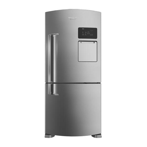 Geladeira Frost Free Inox 565 Litros Brastemp Inverse Frost Free - Geladeira Frost Free Inox BRV80AK