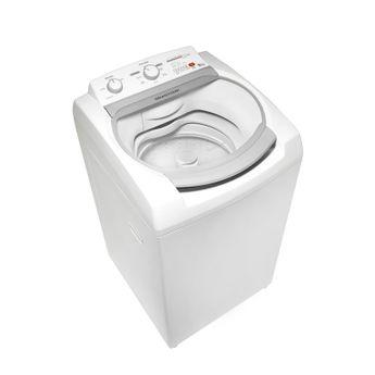 Máquina de lavar 9kg - Lavadora de roupas 9kg Branca Brastemp BWJ09AB - Imagem em Perspectiva