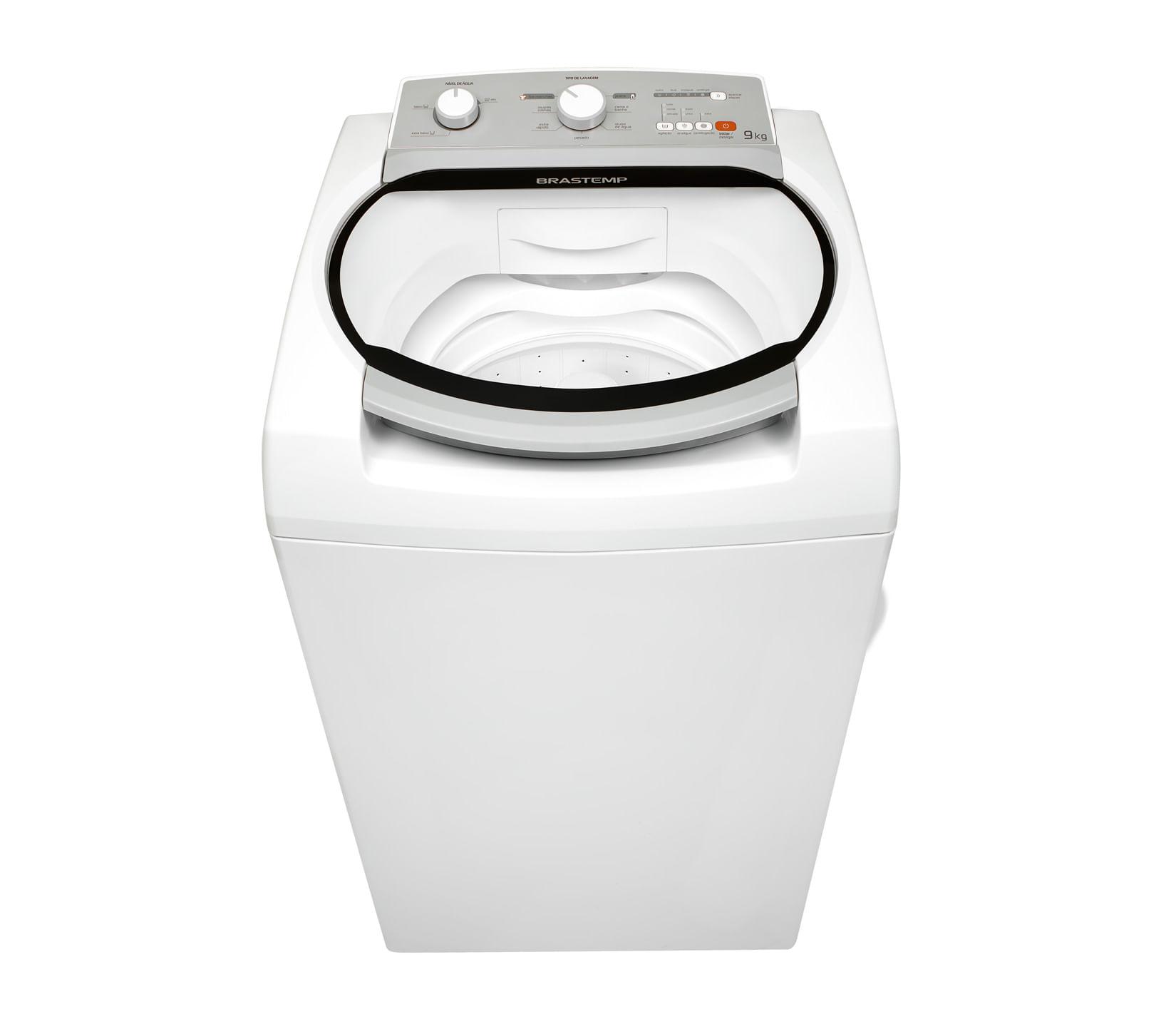 Máquina de Lavar Brastemp 9kg com Ciclo Tira Manchas