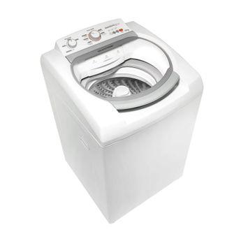 Máquina de Lavar: Lavadora de roupas 11 kg branca Brastemp BWJ11AB - Imagem em perspectiva