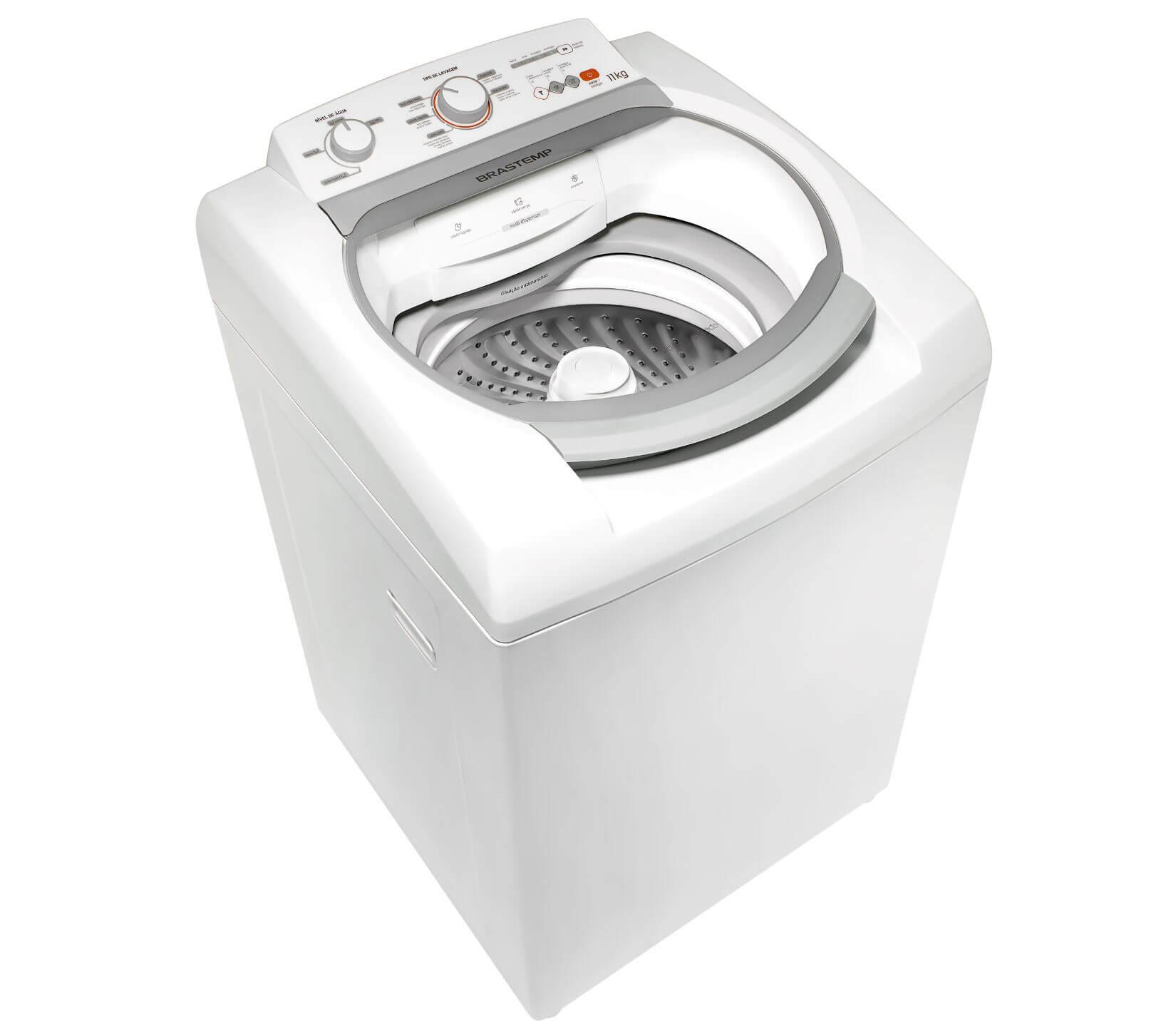 Máquina de Lavar Brastemp 11kg com Ciclo Tira Manchas e Ciclo Delicado