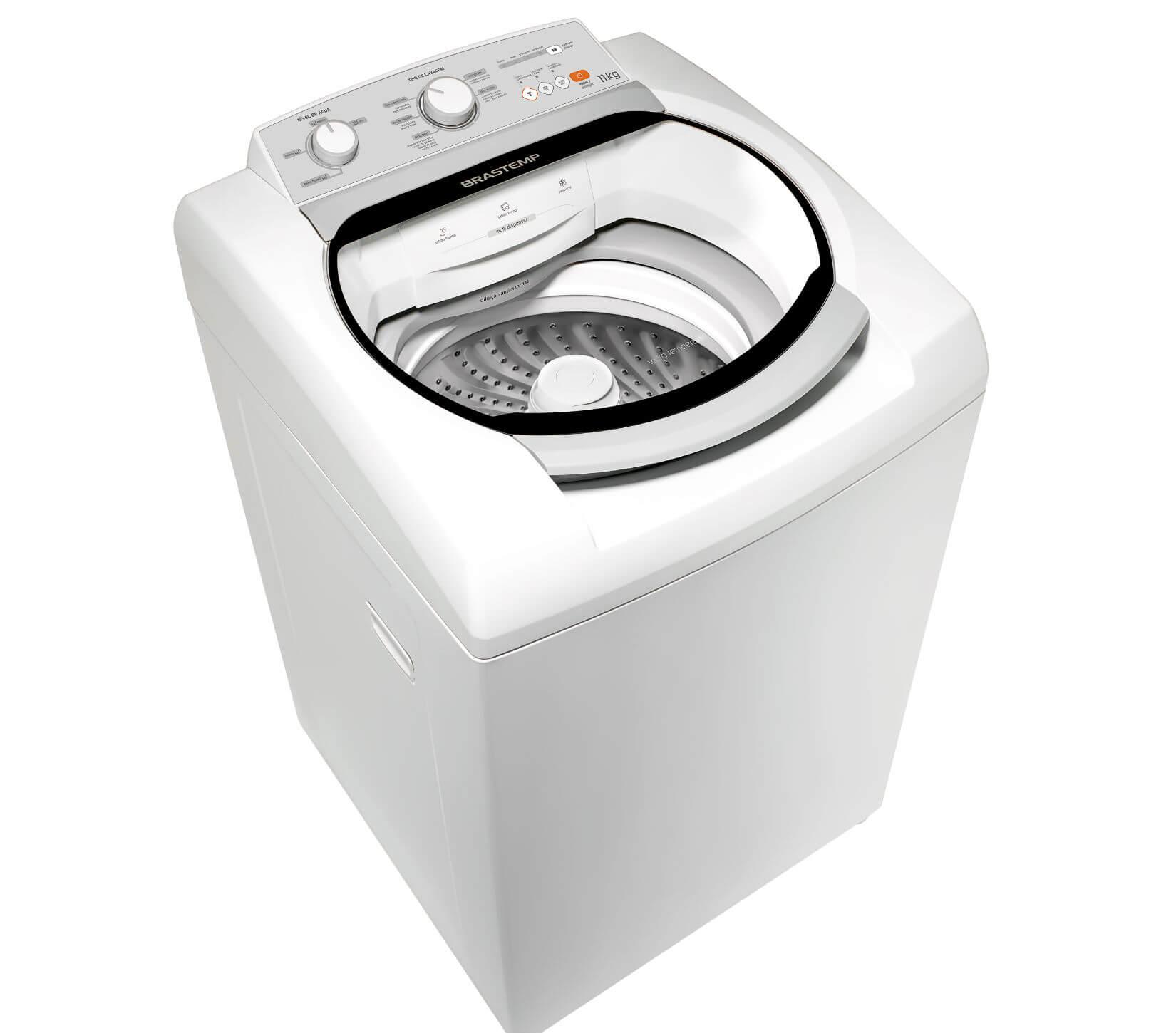 Máquina de Lavar Brastemp 11kg com Ciclo Tira Manchas e Função Turbo Performance