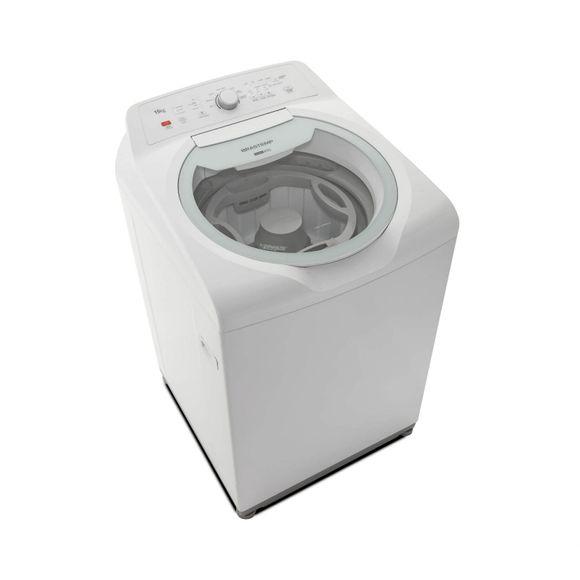 Lavadora de Roupa 15 Kg Branco Double Wash Brastemp - 110v - Bwd15abana