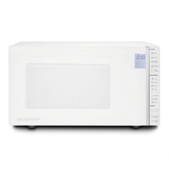 Micro-Ondas Brastemp 32 Litros Branco Com Painel Integrado 110V