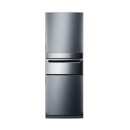 Geladeira Brastemp Inverse 3 Frost Free 419 litros cor Inox com Freeze Control Pro - BRY59AK - 220V