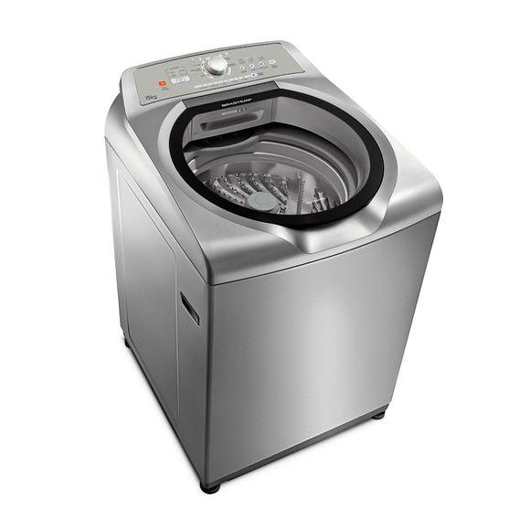Máquina de Lavar - Máquina de lavar 15kg Inox | BWN15AK Brastemp
