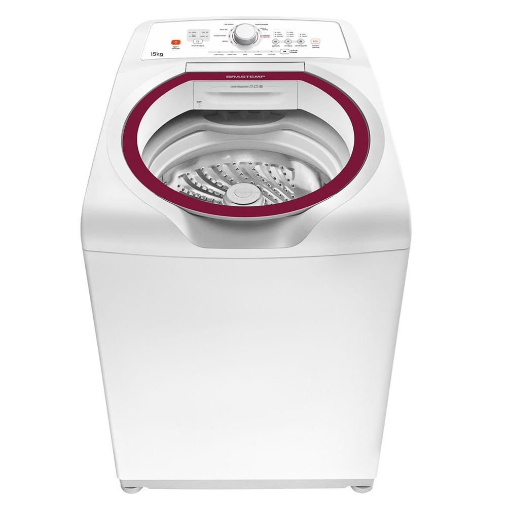 Máquina de Lavar Brastemp 15kg com Ciclo Edredom Especial e Ciclo Roupas Intímas