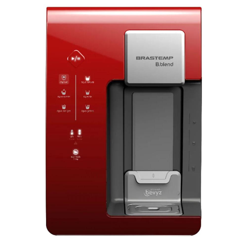 Máquina de Bebidas Brastemp B.blend com purificador - Vermelho - BPG40CV