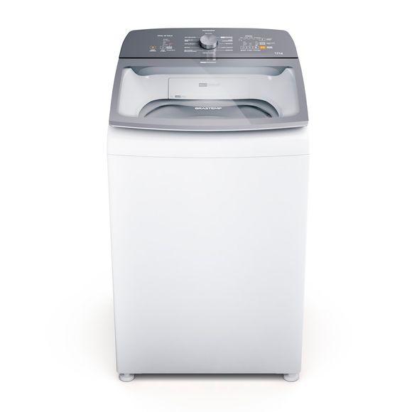 Máquina De Lavar Brastemp 12Kg Branca Água Quente Com Ciclo Tira Manchas Pro E Ciclo Antibolinha - Bwr12ab 220V
