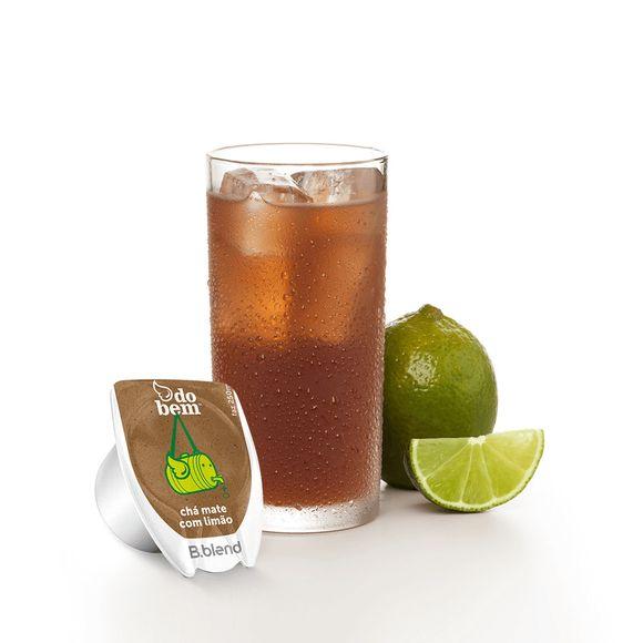 Chá Mate Com Limão Do Bem™ - Kit Com 10 Cápsulas - Bta95axona_Kit Chá Mate Com Limão Do Bem™ - Kit Com 10 Cápsulas