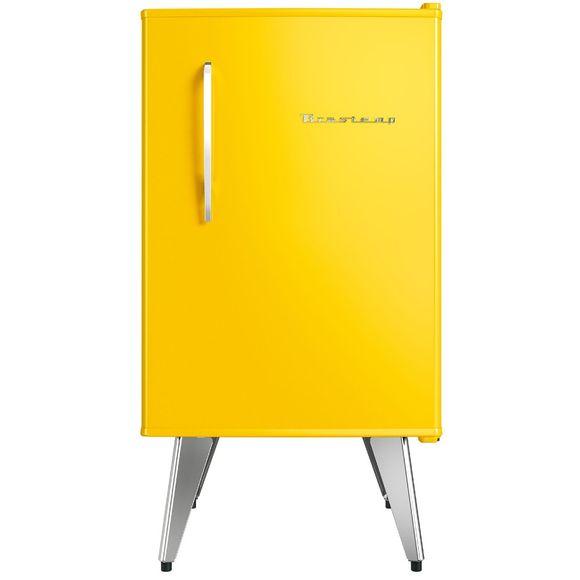 Frigobar Brastemp Retrô 76 Litros Amarelo - Bra08by 220V