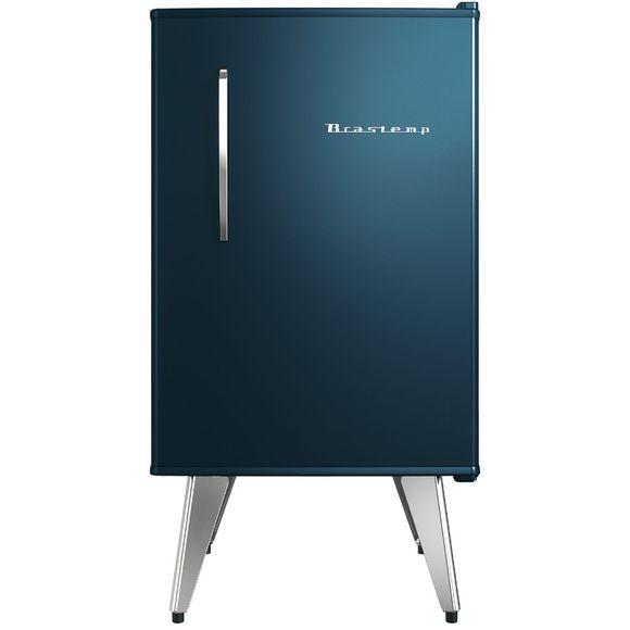 Frigobar Brastemp Retrô 76 Litros Midnight Blue - Bra08bz 110V