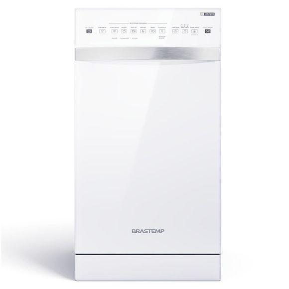 Lava-Louças 10 Serviços Brastemp Branco Com Ciclo Pesado   - Blf10bb 220V