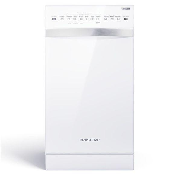 Lava-Louças 10 Serviços Brastemp Branco Com Ciclo Pesado   - Blf10bb 110V